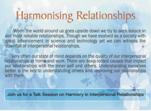 harmonising_relationships_bkshivani_nlu_brahmakumaris